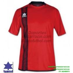 LUANVI CAMISETA RIVER Futbol color ROJO Manga Corta talla equipacion hombre niño 06162-0024