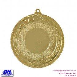 Medalla deportiva 70 diametro 29900 oro plata bronce premio pallart grabado laser personalizada
