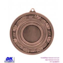 Medalla deportiva 60 diametro 29902 oro plata bronce premio pallart grabado laser personalizada
