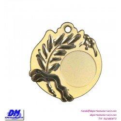 Medalla deportiva 60 diametro 29913 oro plata bronce premio pallart grabado laser personalizada