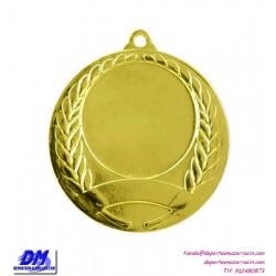Medalla deportiva 40 diametro 29966 oro plata bronce premio pallart grabado laser personalizada