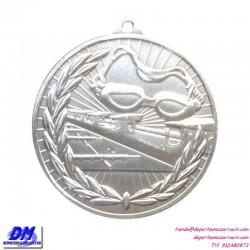 Medalla NATACION 29904-13 diametro 50mm oro plata bronce premio pallart grabado laser personalizada