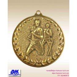 Medalla ATLETISMO CORRER RUNNING 29975-16 diametro 50mm oro plata bronce premio pallart grabado laser personalizada