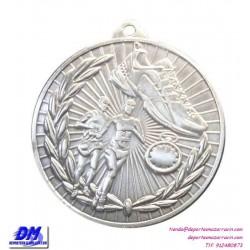 Medalla ATLETISMO RUNNING CORRER 29904-16 diametro 50mm oro plata bronce premio pallart grabado laser personalizada