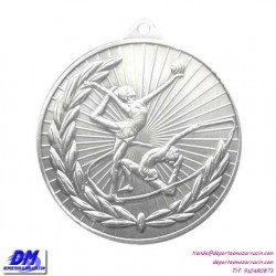 Medalla GIMNASIA RITMICA 29904-60 diametro 50mm oro plata bronce premio pallart grabado laser personalizada