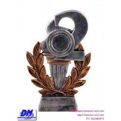 Trofeo copa participacion 4300/2 segundo 2 plata economico premio deporte pallart grabado chapa personalizado