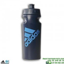 Adidas botella bidon de agua Performance Bottle 0,5 liltros AZUL S22456