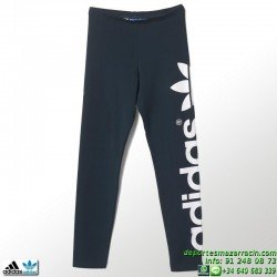 Adidas Malla ORIGINALS J LEGGINS Azul Marino chica gimnasio fitness deporte chica mujer S14429