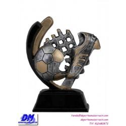 Trofeo copa participacion 4307-00 futbol economico premio deporte pallart grabado chapa personalizado
