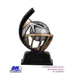 Trofeo copa participacion 4307-01 baloncesto economico premio deporte pallart grabado chapa personalizado