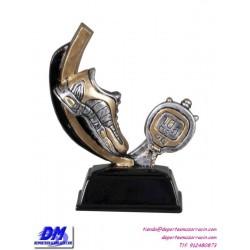 Trofeo copa participacion 4307-16 atletismo correr economico premio pallart grabado chapa personalizado