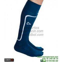 ELEMENTS STRIP LISA MEDIAS Futbol color AZUL MARINO equipacion deporte calcetin talla SOCK hombre niño 910810