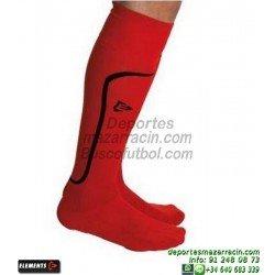 ELEMENTS STRIP LISA MEDIAS Futbol color ROJO equipacion deporte calcetin talla SOCK hombre niño 910810