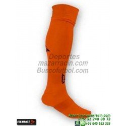 ELEMENTS EQUIP LISA MEDIAS Futbol color NARANJA equipacion deporte calcetin talla SOCK hombre niño 910105