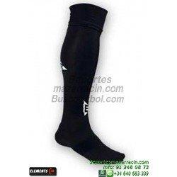 ELEMENTS EQUIP LISA MEDIAS Futbol color NEGRO equipacion deporte calcetin talla SOCK hombre niño 910105