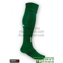 ELEMENTS EQUIP LISA MEDIAS Futbol color VERDE OSCURO equipacion deporte calcetin talla SOCK hombre niño 910105