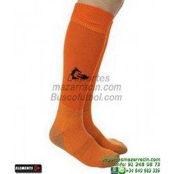ELEMENTS PROTECNIC LISA MEDIAS Futbol color NARANJA equipacion deporte calcetin talla SOCK hombre niño 910104
