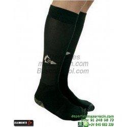 ELEMENTS PROTECNIC LISA MEDIAS Futbol color NEGRO equipacion deporte calcetin talla SOCK hombre niño 910104