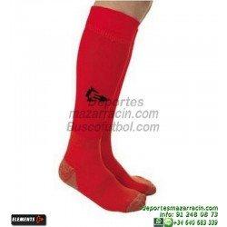 ELEMENTS PROTECNIC LISA MEDIAS Futbol color ROJO equipacion deporte calcetin talla SOCK hombre niño 910104