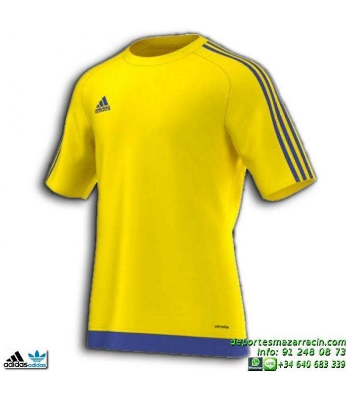 camiseta adidas amarilla hombre