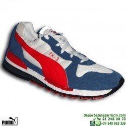 PUMA TX-3 BLANCO-ROJO zapatilla Hombre MODA deportiva sportwear clasica 341044-25
