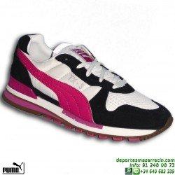 PUMA TX-3 Mujer BLANCO-ROSA zapatilla MODA deportiva sportwear clasica 341542-19