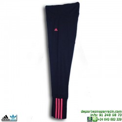 Adidas Malla ESS MID 3S TIGHT S20943 Azul Marino-Rosa  mujer gimnasio fitness deporte