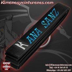 Bordar Nombre Apellido Cinturon artes marciales
