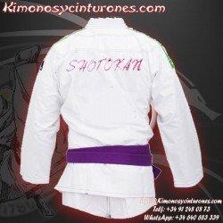 Bordado nombre  cinturon de artes marciales bordar
