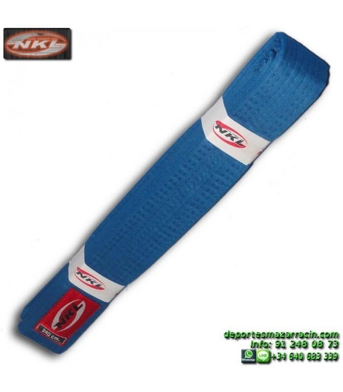 CINTURON AZUL karate-judo infantil 240cm
