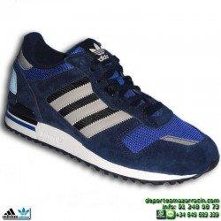 Adidas ZX 700 AZUL M19392 Zapatilla Originals calzado clasica Hombre nylon retrorunning