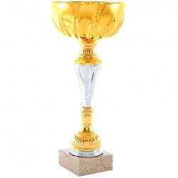 Trofeo copa comercial 5230 diferentes alturas premio deporte pallart grabado chapa grabada