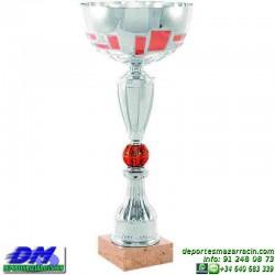 Trofeo copa comercial 5249 diferentes alturas premio deporte pallart grabado chapa grabada