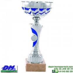 Trofeo copa comercial 5254 diferentes alturas premio deporte pallart grabado chapa grabada