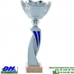 Trofeo copa comercial 5258 diferentes alturas premio deporte pallart grabado chapa grabada