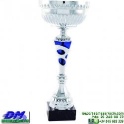 Trofeo copa comercial 5259 diferentes alturas premio deporte pallart grabado chapa grabada