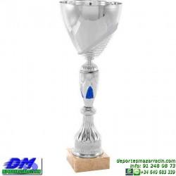 Trofeo copa comercial 5260 diferentes alturas premio deporte pallart grabado chapa grabada
