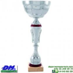 Trofeo copa comercial 5262 diferentes alturas premio deporte pallart grabado chapa grabada