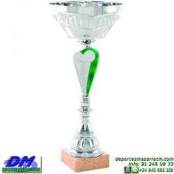 Trofeo copa comercial 5263 diferentes alturas premio deporte pallart grabado chapa grabada