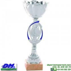 Trofeo copa comercial 5264 diferentes alturas premio deporte pallart grabado chapa grabada