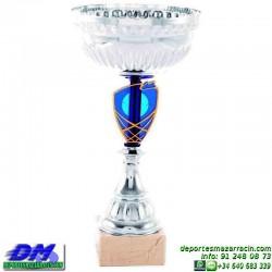 Trofeo copa comercial 5265 diferentes alturas premio deporte pallart grabado chapa grabada
