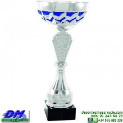 Trofeo copa comercial 5266 diferentes alturas premio deporte pallart grabado chapa grabada