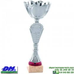 Trofeo copa comercial 5267 diferentes alturas premio deporte pallart grabado chapa grabada