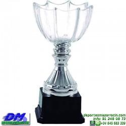 Trofeo copa comercial 5268 diferentes alturas premio deporte pallart grabado chapa grabada