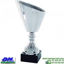Trofeo copa comercial 5269 diferentes alturas premio deporte pallart grabado chapa grabada