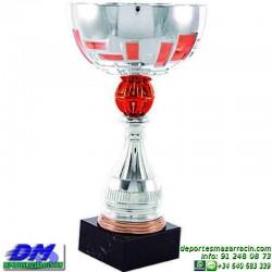 Trofeo copa comercial 5270 diferentes alturas premio deporte pallart grabado chapa grabada