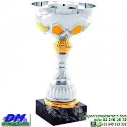 Trofeo copa comercial 5273 diferentes alturas premio deporte pallart grabado chapa grabada