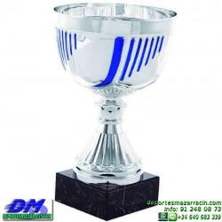 Trofeo copa comercial 5274 diferentes alturas premio deporte pallart grabado chapa grabada