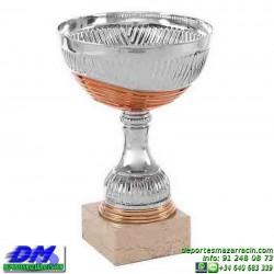 Trofeo copa comercial 5275 diferentes alturas premio deporte pallart grabado chapa grabada