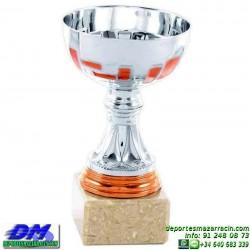Trofeo copa economico 5281 diferentes alturas premio deporte pallart grabado chapa personalizado
